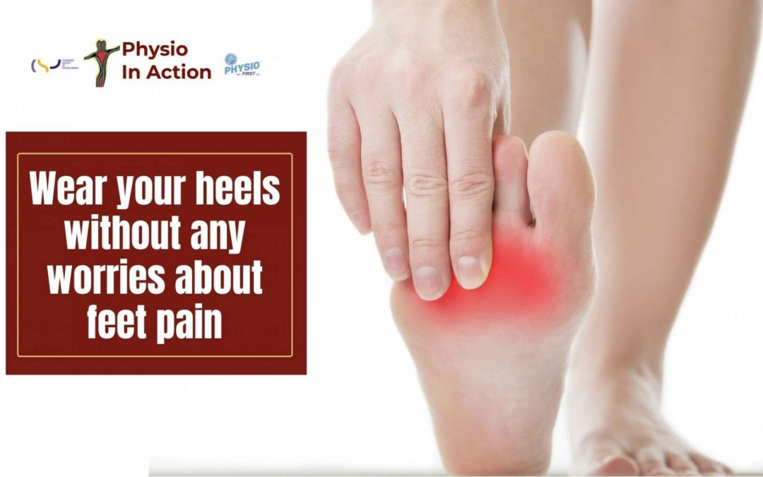Wear your heels without any worries about feet pain